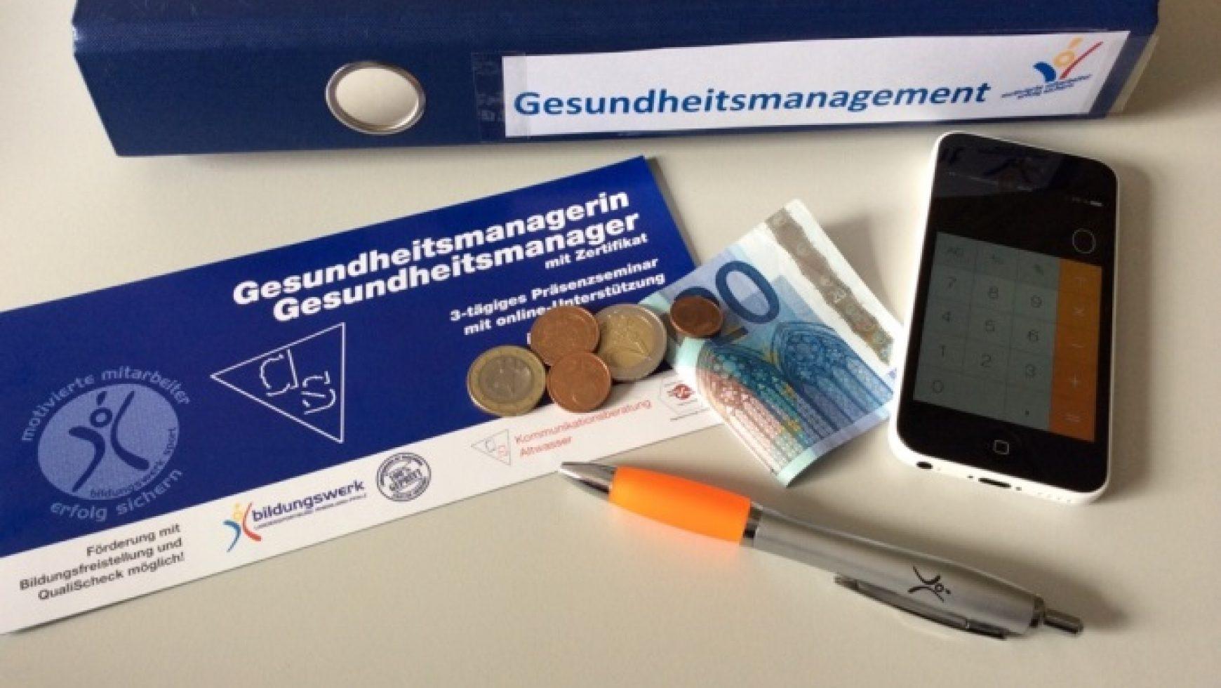 Gesundheitsmanager/in mit Zertifikat  – nächster Termin 14./15.06. und 12.07.2014 in Mainz