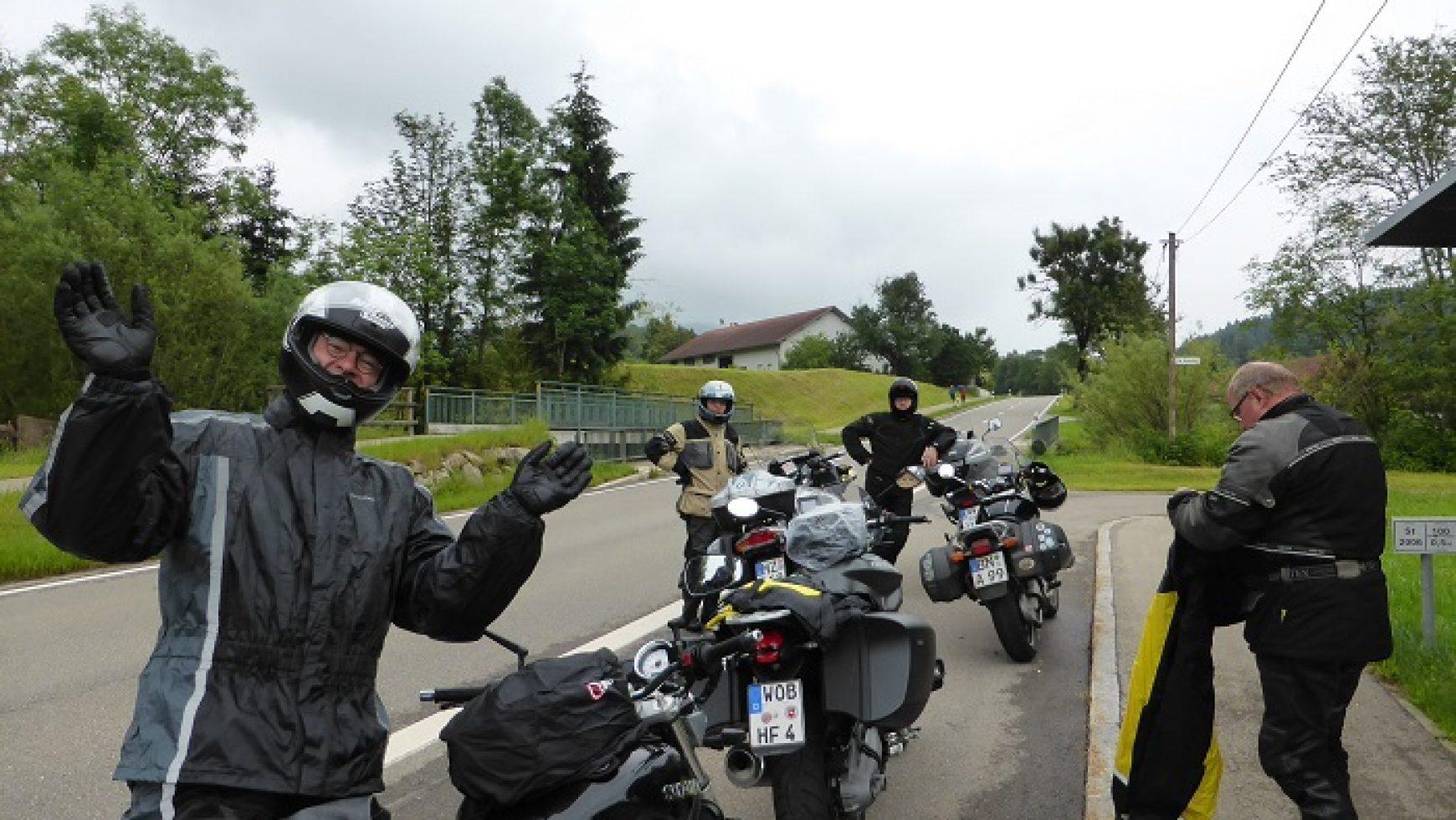 Motorrad – Alpen – Tour 2016 ist Geschichte