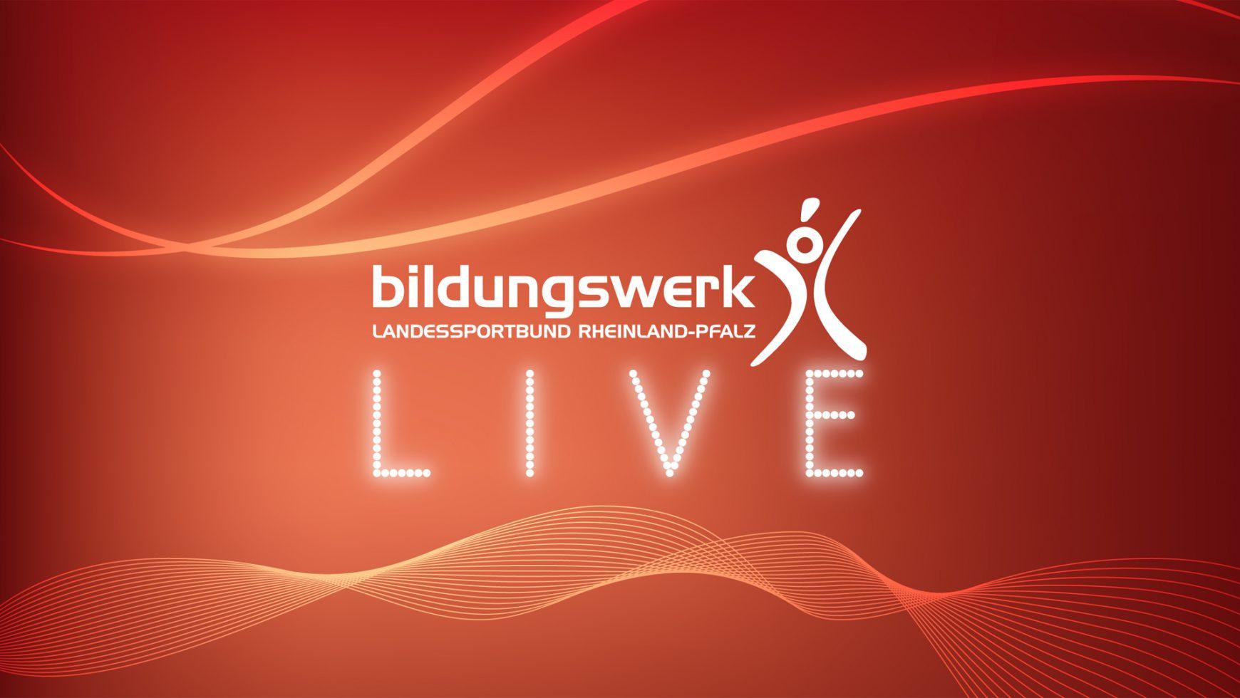 Bildungswerk LIVE! – das Wochenprogramm…